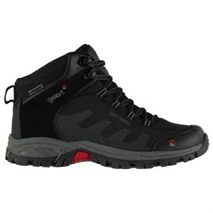 Gelert Men's Softshell Mid Waterproof Hiking Shoes - Size 10