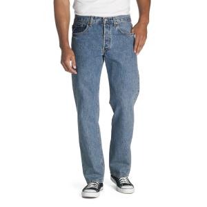 The classic standard, Levi\\\'s 501 original jeans.  100% cotton.  Original fit.  Sits at waist. ...
