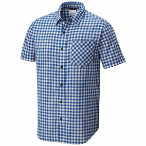 Columbia Men's Katchor Ii Short-Sleeve Woven Shirt - Size M