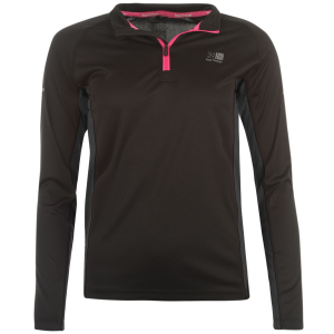Karrimor Women's 1/4 Zip Long-Sleeve Top