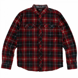 O'neill Guys' Glacier Plaid Long-Sleeve Shirt
