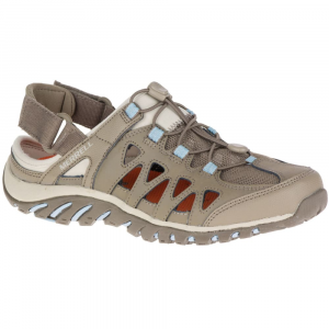 Merrell Women's Valencia Hiking Sandals, Brindle/powder Blue - Size 11