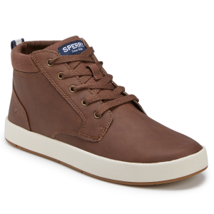 You can\\\'t rework a classic. Or, can you? By adding extra height to its Cruise boat shoe, Sperry...