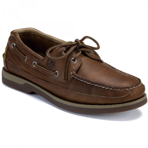Sperry Men's Mako 2-Eye Canoe Moc Boat Shoes - Size 10