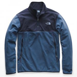The North Face Men's Glacier Alpine 1/4 Zip Pullover - Size M