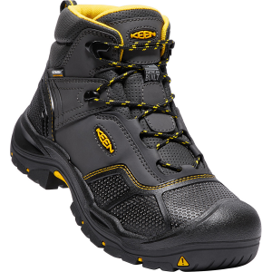 This steel toe boot was built in Portland, OR to withstand anything you throw at it. A...