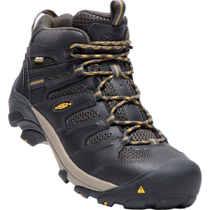 Waterproof and breathable, these steel toe work boots were designed for all-day comfort,...