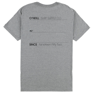 Divided but unified, this pocket tee features subtle O\\\'Neill branding on the front and back....