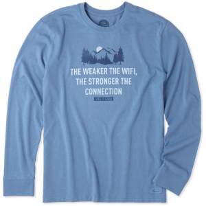 Life Is Good Men's Strong Connection Crusher Long-Sleeve Tee
