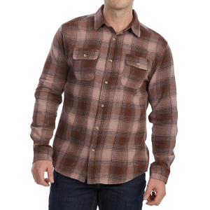 Free Nature Guys' Yarn-Dyed Long-Sleeve Flannel Shirt