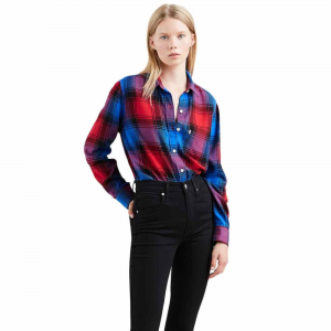 Levi's Women's Ultimate Boyfriend Long-Sleeve Shirt