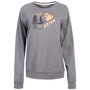 United By Blue Women's Rise & Grind Crew Long-Sleeve Pullover - Size S