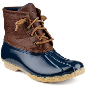 Take on Mother Nature in these duck inspired wet weather boots. Featuring a secure fit and a...