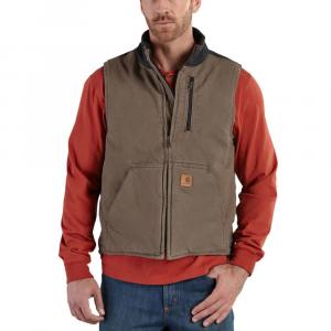 Carhartt Men's Mock Neck Full-Zip Vest