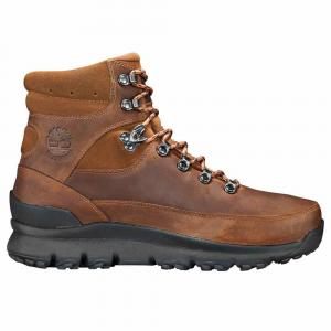 Timberland Men's World Hiker Mid Waterproof Hiking Boots - Size 8