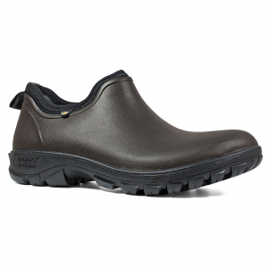 Bogs Men's Sauvie Low Waterproof Insulated Storm Shoes