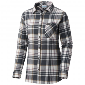 Columbia Women's Simply Put Ii Long-Sleeve Flannel Shirt - Size XS