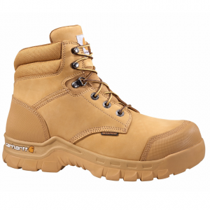 Carhartt Men's 6-Inch Rugged Flex Work Boots, Wheat