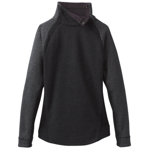Give yourself something extra. When you feel a chill in the air, button up this sweater\\\'s snap...