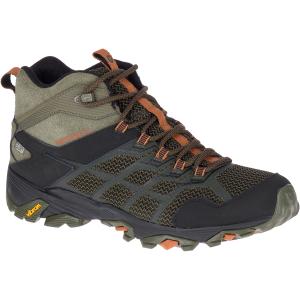 Merrell Men's Moab Fst 2 Mid Waterproof Hiking Boots - Size 9