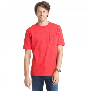 G.h. Bass & Co. Men's Explorer Performance Heather Jersey Pocket Short-Sleeve Tee