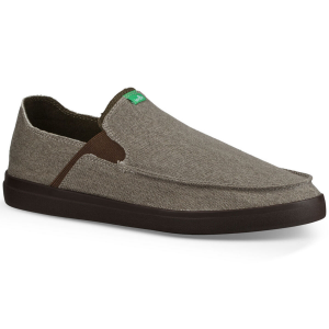 These redesigned men\\\'s canvas slip-on sneakers still offer a comfortable feel, but now feature a...