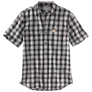 Carhartt Men's 103553 Fort Plaid Short-Sleeve Shirt