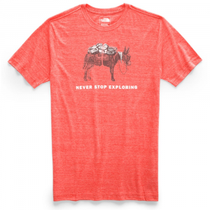 The North Face Men's Pony Wheels Tri-Blend Short-Sleeve Tee - Size M