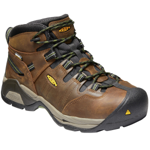 Keen Men's Detroit Xt Mid Steel Toe Waterproof Work Boots