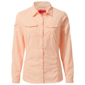 Craghoppers Women's Nosilife Long-Sleeve Shirt - Size 8