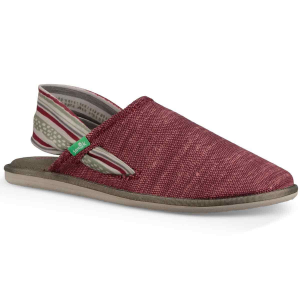 These yoga-style slip on shoes feature soft hem uppers and real yoga mat footbeds for ultimate...