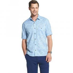 G.h.bass & Co. Men's Short-Sleeve Bass Salt Cove Slubbed Button-Down Shirt