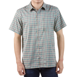 EMS Men's Journey Woven Short-Sleeve Shirt - Size S