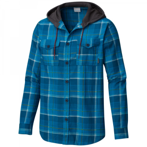 Columbia Men's Flare Gun Flannel Hoodie - Size XL