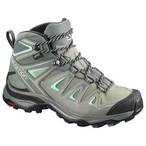 Salomon Women's X Ultra 3 Mid Gtx Waterproof Hiking Boots, Wide - Size 7