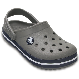 Give your toddler a comfortable, lightweight shoe for summer. These kid\\\'s Crocs offer Croslite...