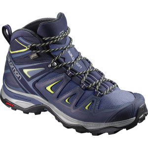 Salomon Women's X Ultra 3 Mid Gtx Hiking Boots, Wide - Size 6