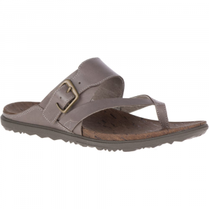 Merrell Women's Around Town Luxe Buckle Thong Sandals - Size 5