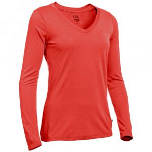 EMS Women's Techwick Vital Long-Sleeve V-Neck Tee - Size M