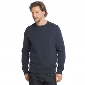 G.h. Bass & Co. Men's Sueded Mountain Fleece Long-Sleeve Pullover