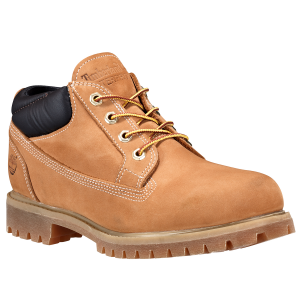 This is the lower version of Timberland\\\'s men\\\'s waterproof boots. The low profile of...
