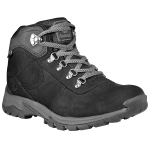 The Women\\\'s Mt. Maddsen Mid Waterproof Hiking Boots from Timberland feature waterproof uppers...