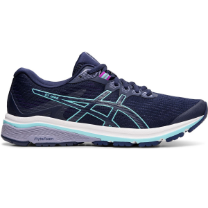 Enjoy comfort with every stride with the women\\\'s GT-1000 8 running shoe, featuring FLYTEFOAM...