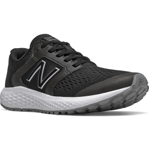 The Women\\\'s New Balance 520 V5 WIDE Running Shoe is a durable runner ready to tackle your...