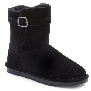 The Bearpaw Catherine Bootie offers ultimate comfort and a fun design in a simple slip-on...