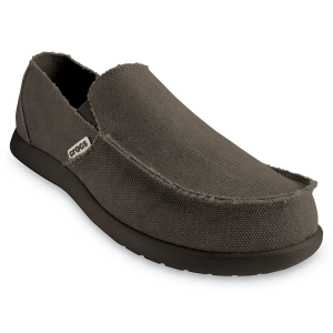 These So-Cal style canvas. slip-ons feature Crocs(R) Croslite(TM) material in the midsole and...