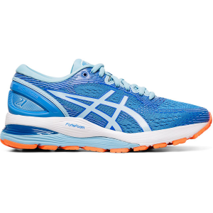 Run further than you thought possible in the GEL-NIMBUS 21 running shoe for women by ASICS -...