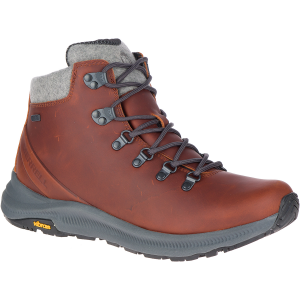 This nostalgic fall & winter hiker features salt-resistant leathers and Vibram Arctic Grip wet...