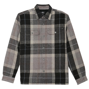 Keep warm when the weather isn\\\'t. This is a heavy duty flannel jacket that has a sherpa lined...