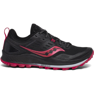 The Peregrine 10 is a protective trail shoe with grippy versatility and cushioning that is...